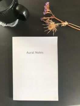 Aural Notes