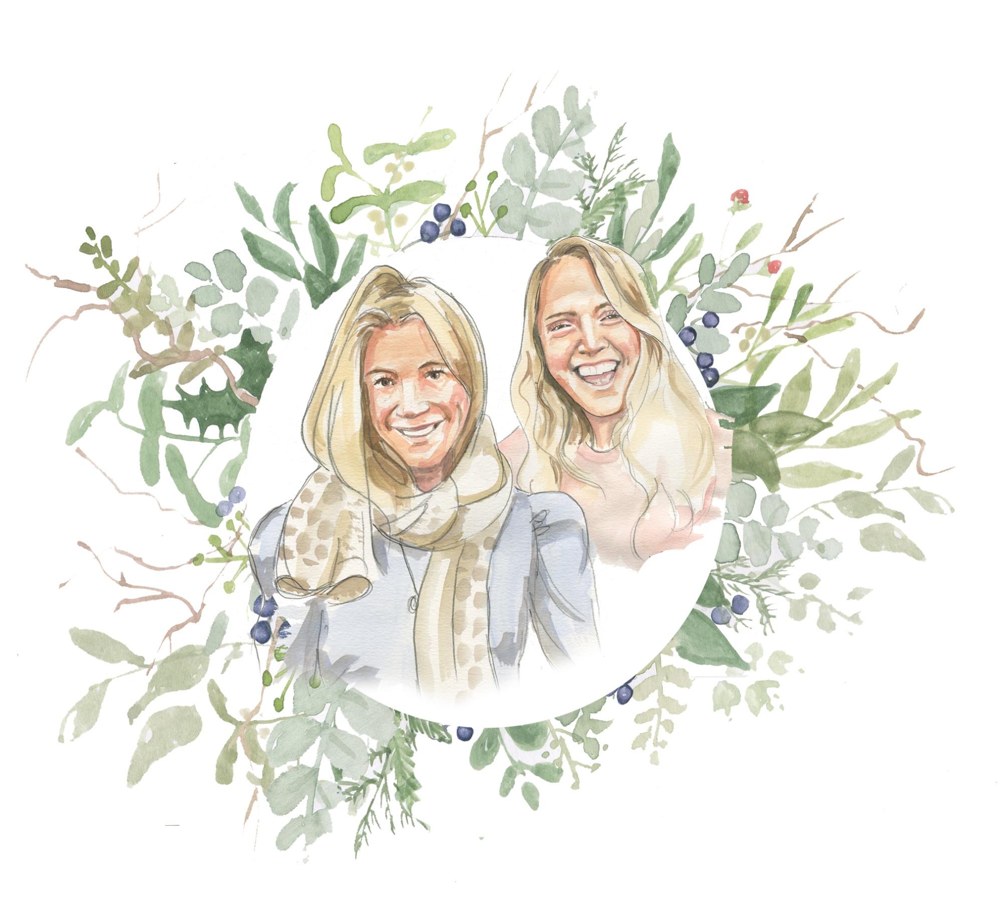 Katie and flick wreath www