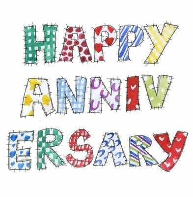 Patchwork Happy Anniversary