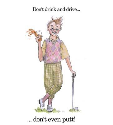 Drink & putt