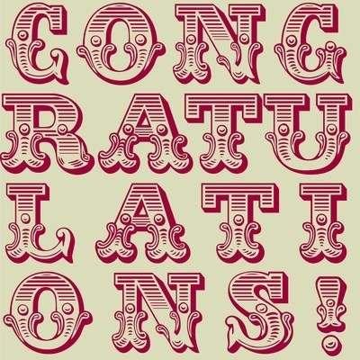 Circus congratulations