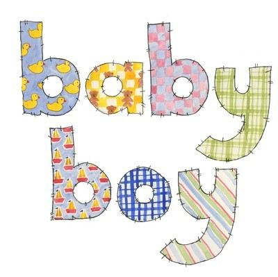 Baby boy (patchwork)