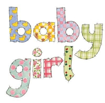 Baby girl (patchwork)
