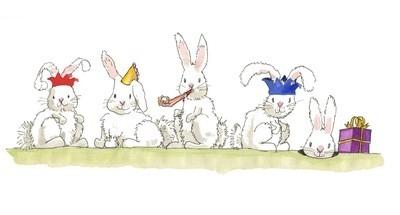 Birthday bunnies