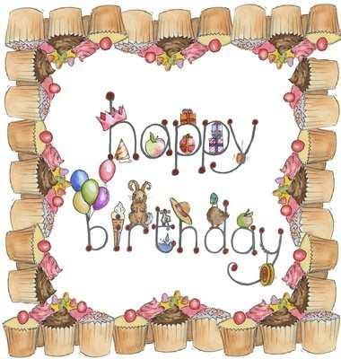 Happy Birthday (illustrated)