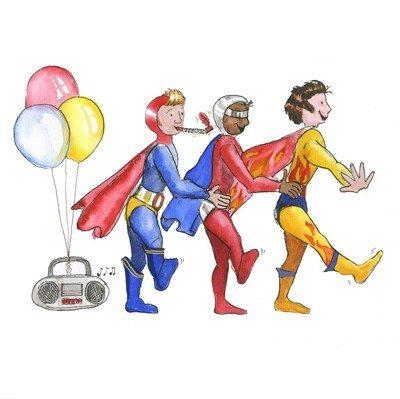 Superhero conga