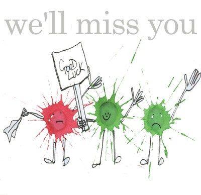 We'll miss you splats