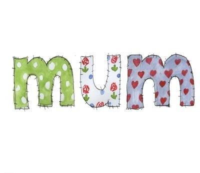 Mum (patchwork)