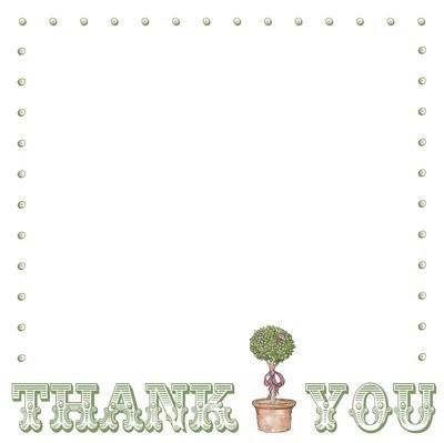Circus thank you - tree