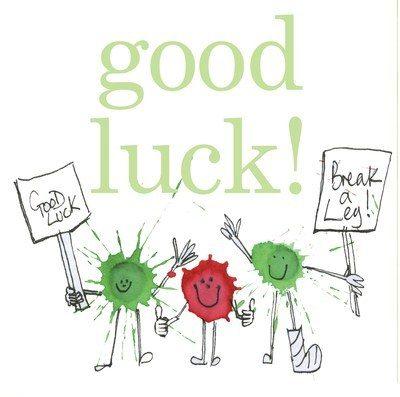 Good luck splats
