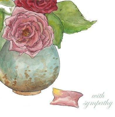 Roses sympathy