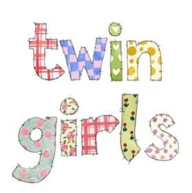 Twin girls (patchwork)