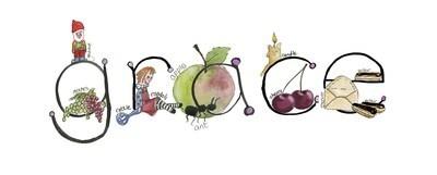 Illustrated alphabet - ANY GIRL'S NAME