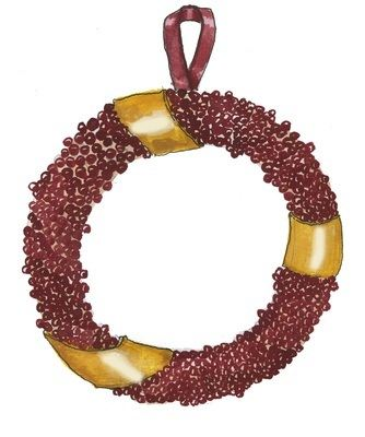 Berry Wreath - pack of Christmas cards