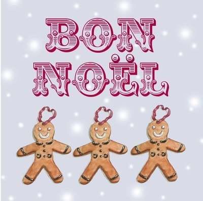 Bon Noel - pack of Christmas cards