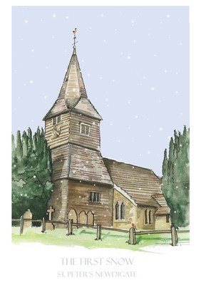 St Peters, Newdigate - pack of Christmas cards