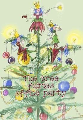 Fairies' Christmas party - pack of Christmas cards