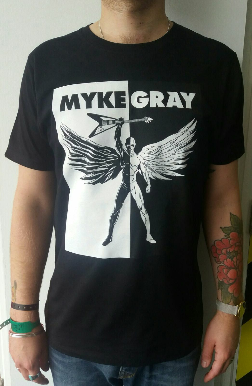 Myke Gray Wings T-shirt