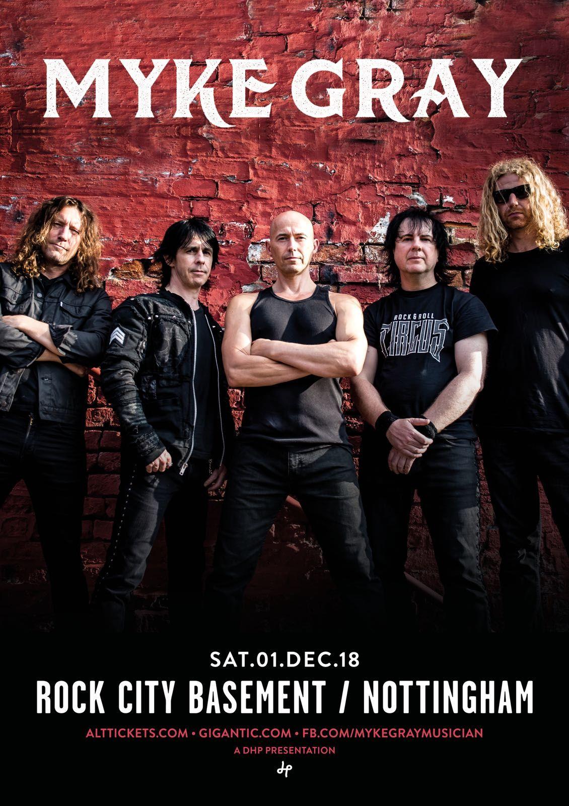 Rock City Basement Headline gig