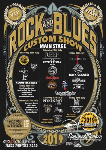 rock and blues custom show