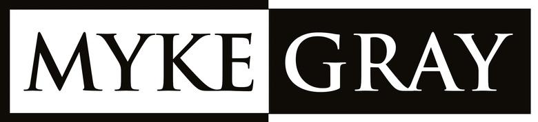 Myke Gray, site logo.