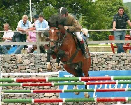 Shingle Hall Tzar at Foxhunter Regional Finals