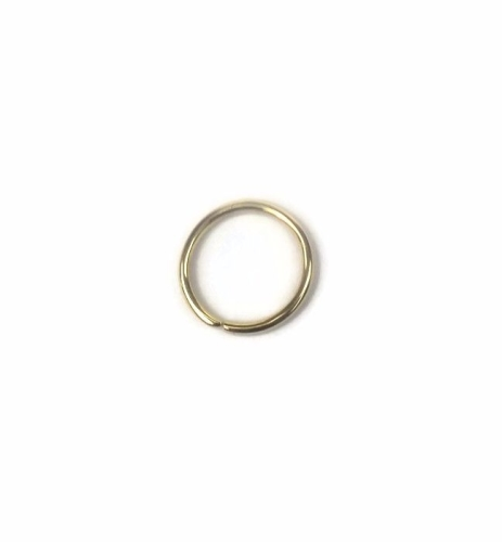 Seam Ring, 18 carat Yellow Gold, 1.2 mm x 8 mm ID