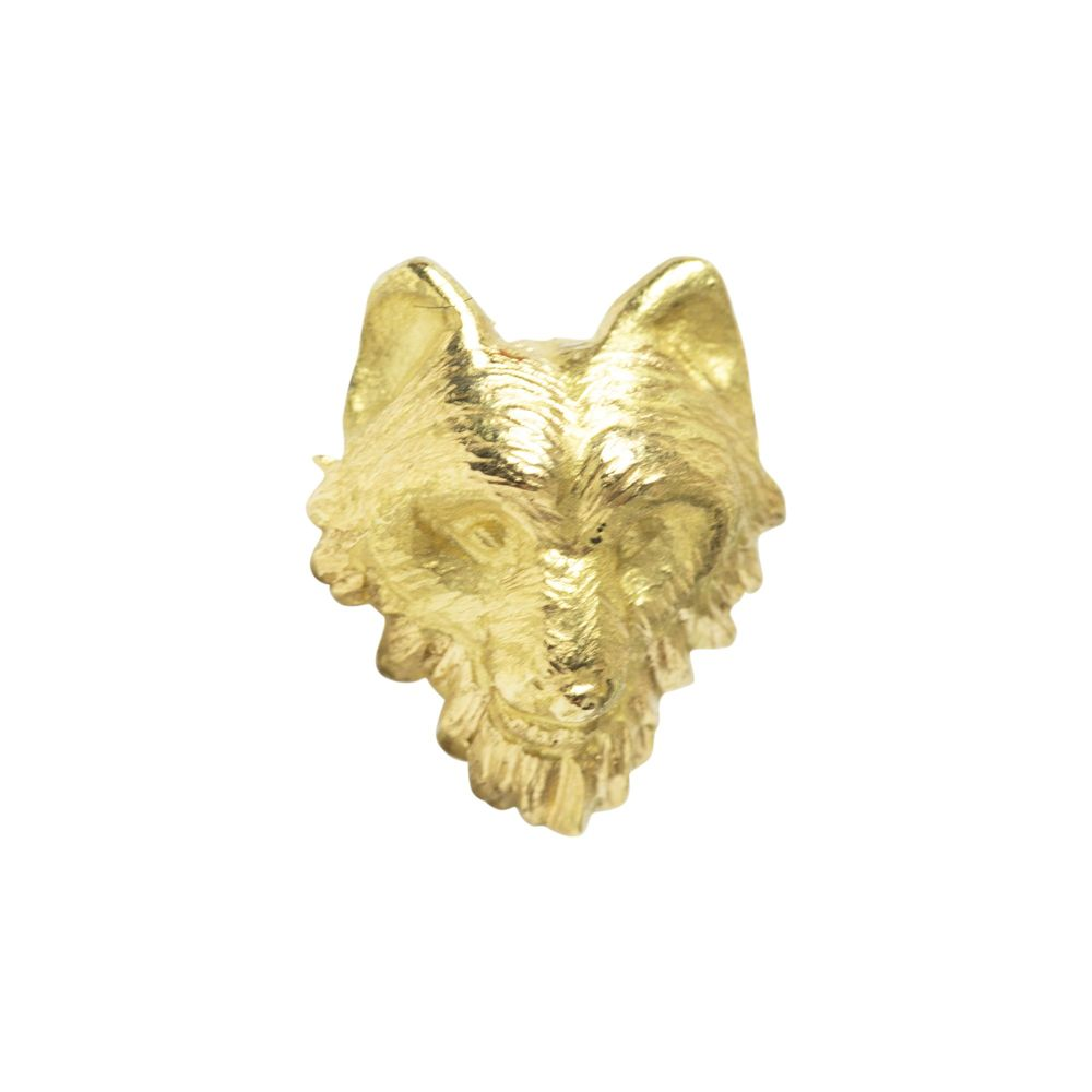 Wolf Push fit, 18 carat yellow gold