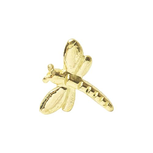 Dragonfly, 18 carat yellow gold front