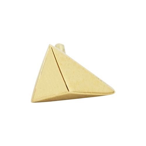 Ziggy, 18 carat yellow gold, front only