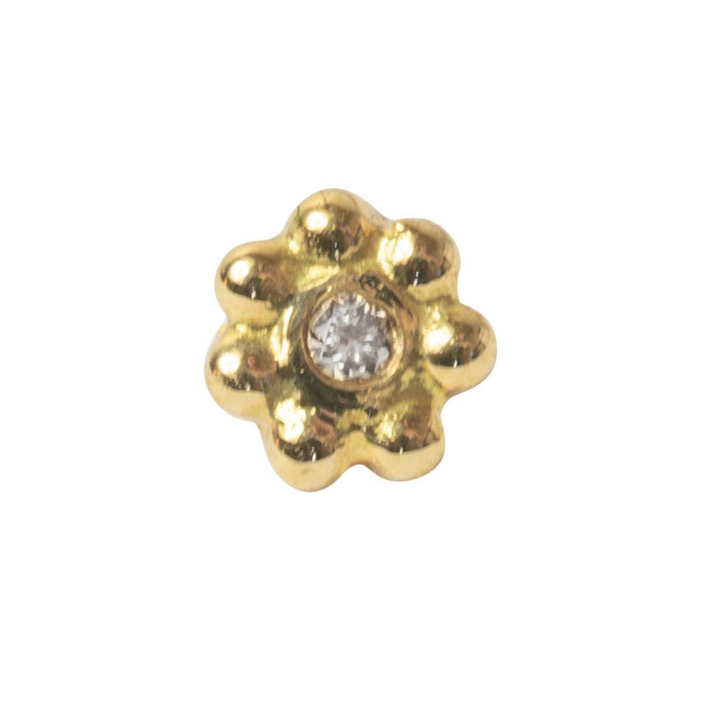 Suki, 18 carat yellow gold, front only