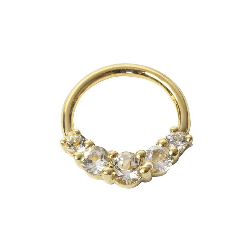 Amanda Seam Ring, 18 carat Yellow gold