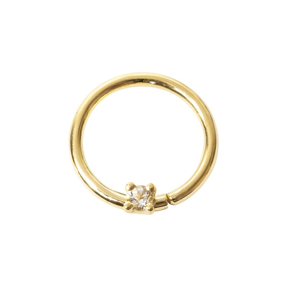 Mara, 18 carat yellow gold  seam ring