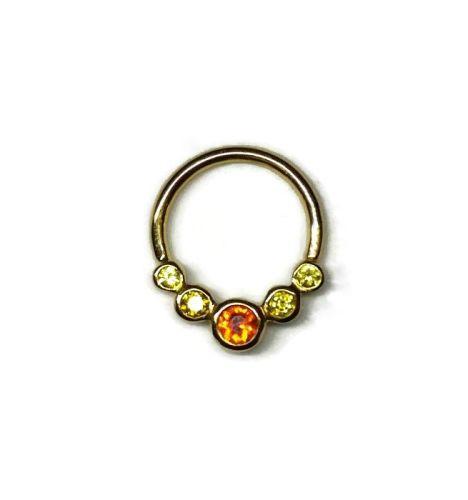 Surya, 18 carat Yellow gold seam ring
