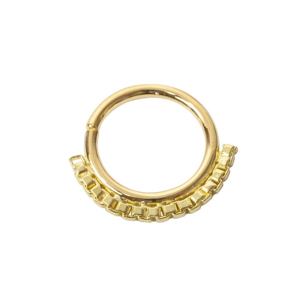 Lawrence, 18 carat Yellow Gold Seam Ring