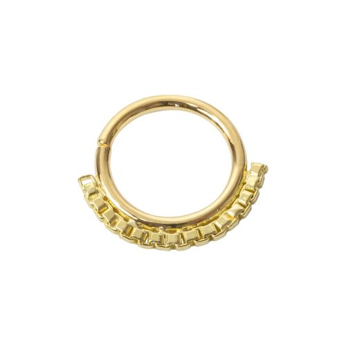 Lawrence, 18 carat Yellow Gold Seam Ring