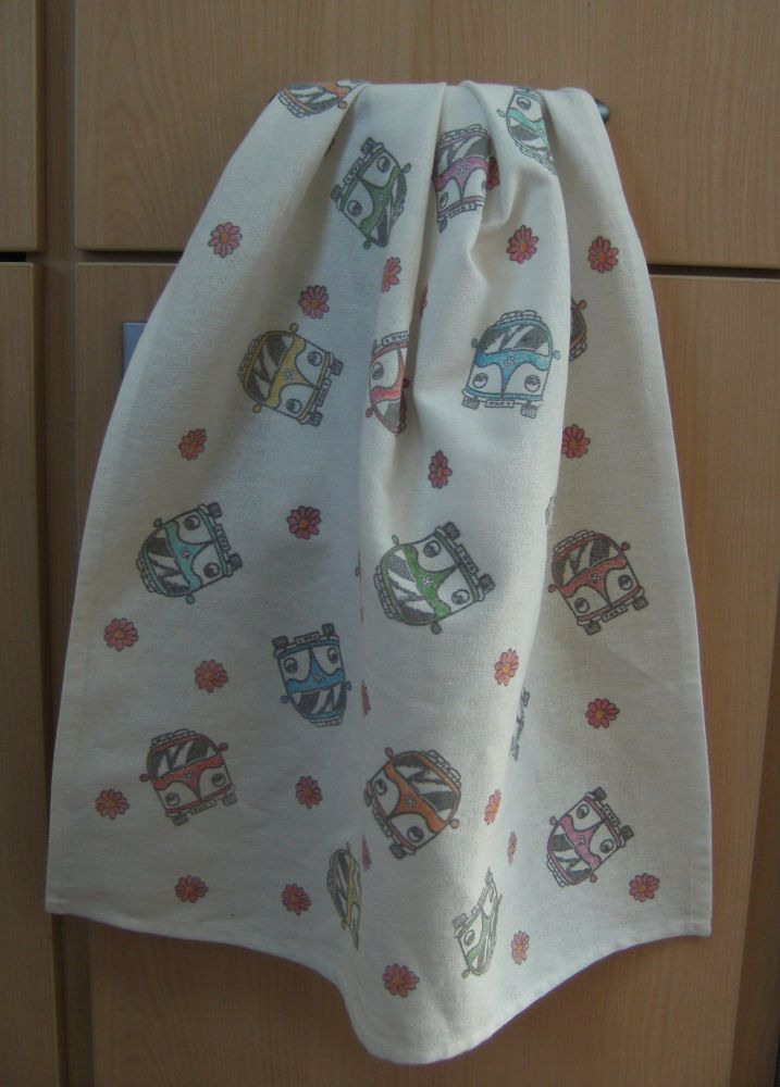 Camper Tea Towel