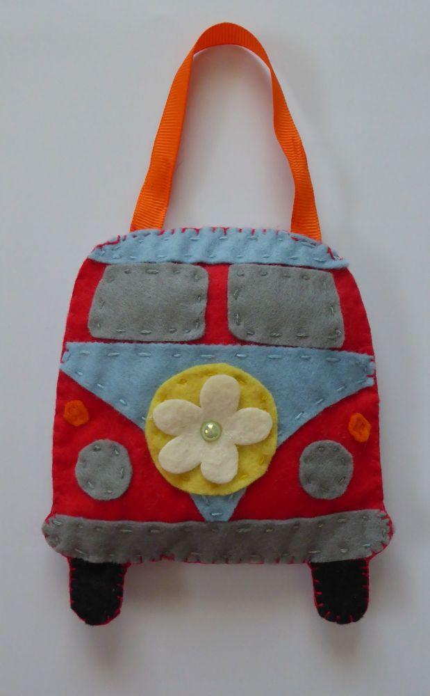 Hand Made Camper Lavender Bag