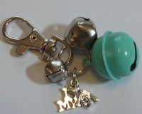 Jake's Walkies Jingle Bells Key Ring for Partially Sighted or Blind Dogs  MINT I LOVE MY DOG