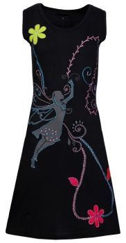 Gorgeous fairy applique dress