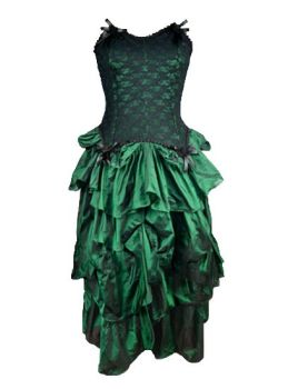 Gorgeous fea steam punk / faerie Devina basque dress