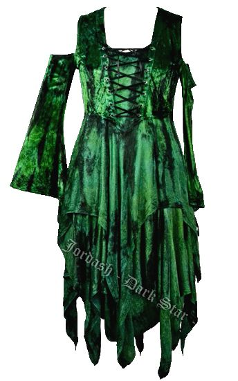 Forest fae gorgeous floaty dress
