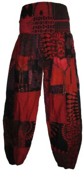 Gorgeous hippy patchwork   trousers