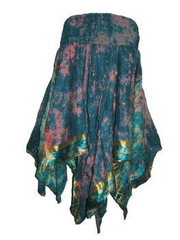 Rimini fae drip pixie skirt,hippy, faerie , belly dance