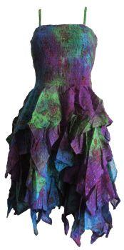 Absolutely stunning skies  mini tye dye frill dress