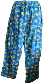 Funky festival hippy trousers [fishes]