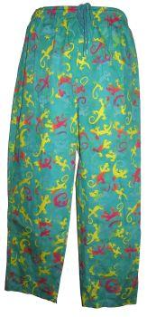 Funky festival hippy trousers [lizard]