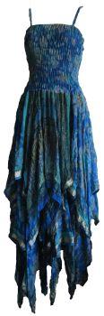 Beautiful ,decorated vintage faerie dress,