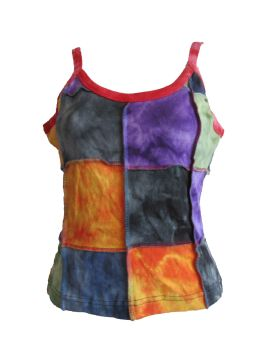 Hippy, festival patchwork  top