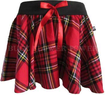 Tartan funky mini skirt